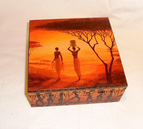 Afro krabička