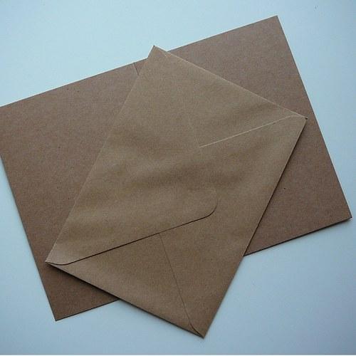 Sada obálky a přání A6 50 ks