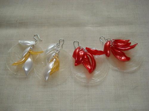 RECY plastové s perletí
