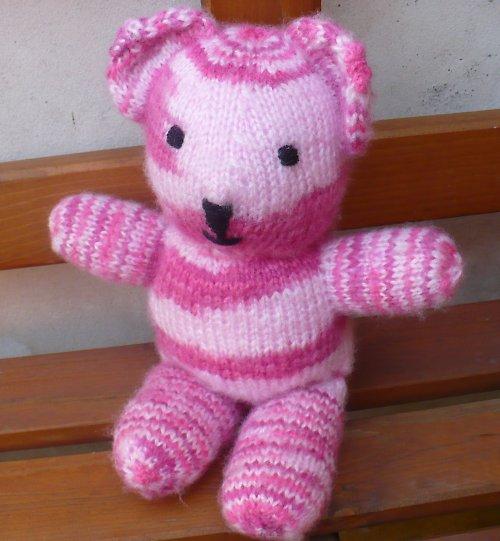 medvěd Růžovej