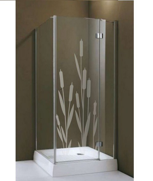 (094g) Nálepka na sprchovací kút