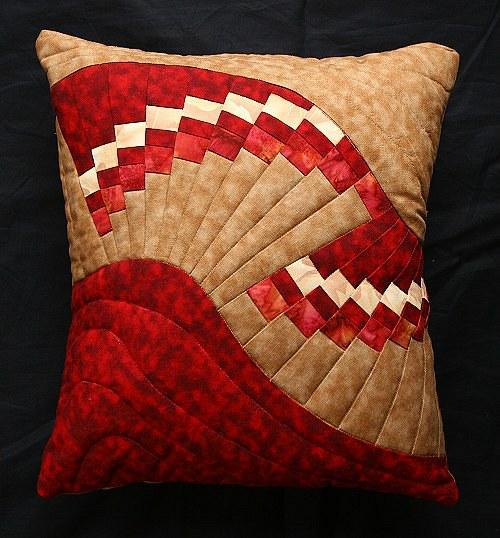 Vějíř na polštářku - online kurz šití