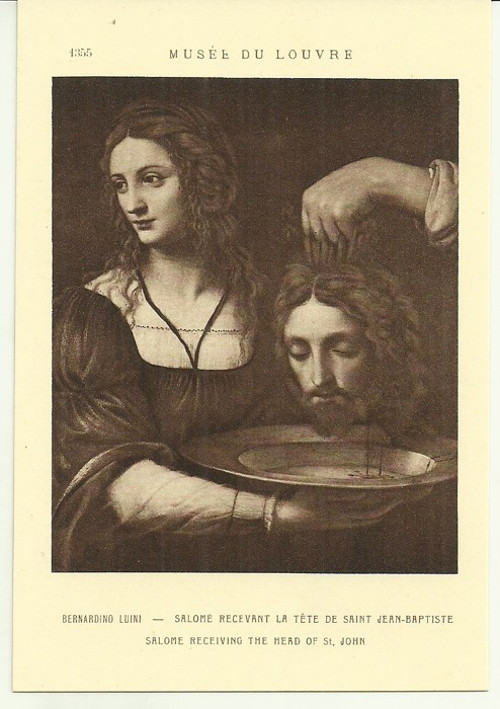 Umělecká pohlednice Bernardino Luini