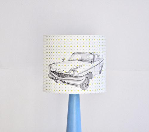 Stínítko dětské Auto 20 cm - stolní/stropní