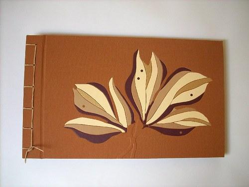 Pouštní květ -opravdu velké ručně vázané album