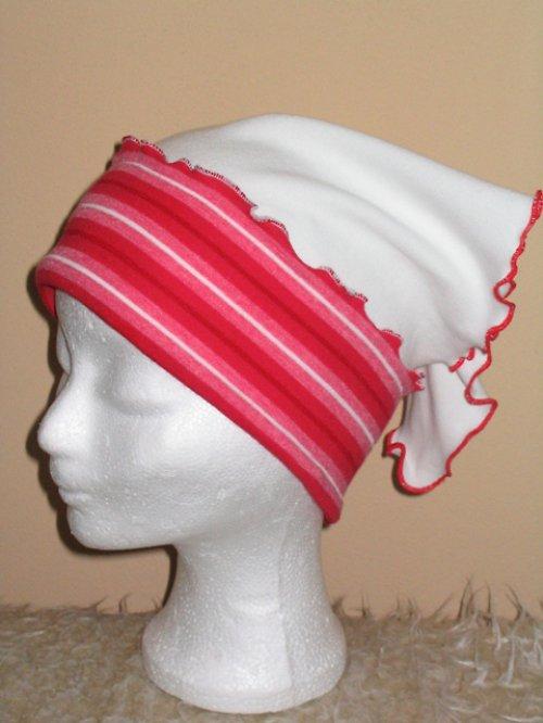 Šáteček bavlněný úpletový, šátek