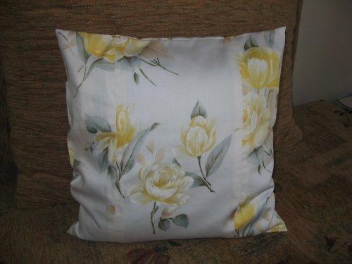 Žlutá růže - povlak na polštářek