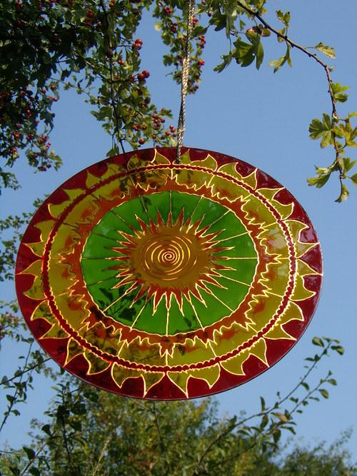 Mandala Ohnivé slnce