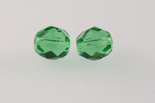Ohňovka 8 mm smaragd 10ks