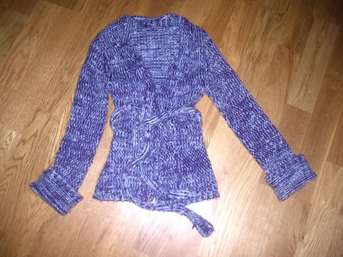 Teplý sveter..