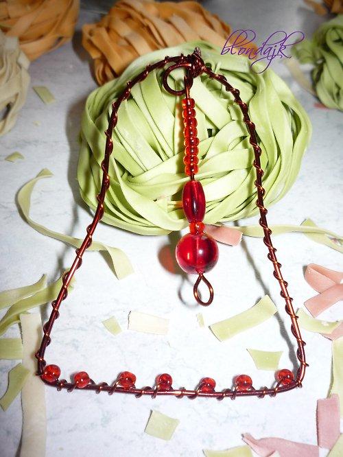 Zvoneček bimbací červený