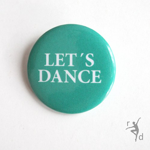 Placka LET´S DANCE (Odznak)