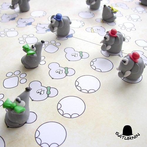 Sloni se myší nebojí - člobrdo