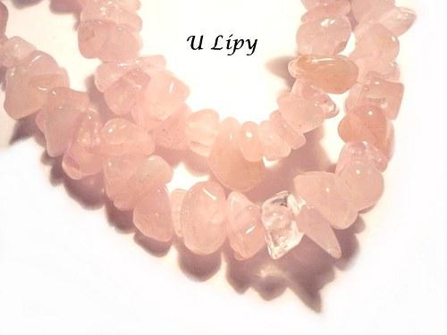 Minerální zlomky 45 cm - růženín