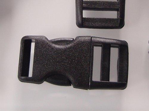 19285-B25 Batohová spona ČERNÁ 20mm, á 1ks