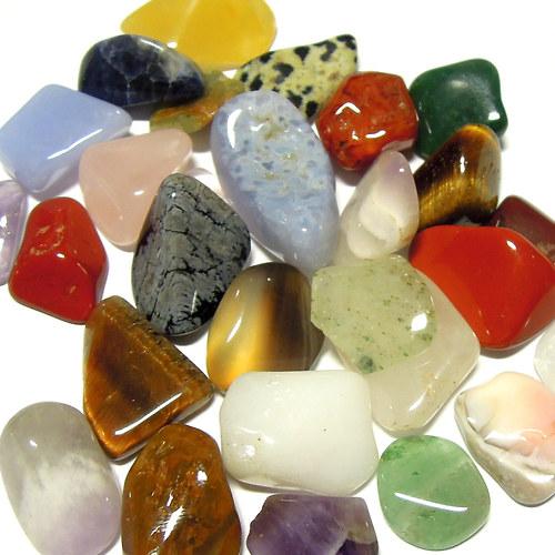 Směs minerálů - nevrtaný - 50 g