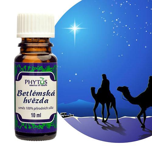 Betlémská hvězda - vánoční směs esenc.olejů 10ml