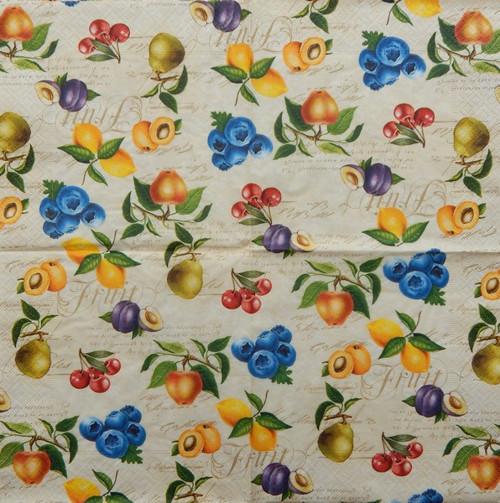 Vintage fruits A 695