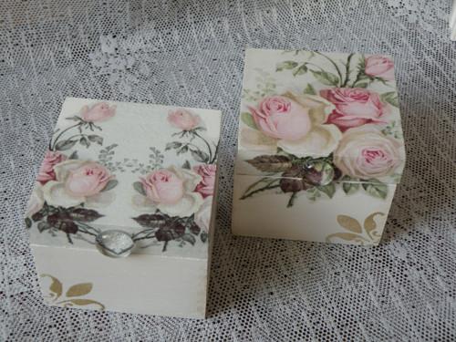 Svatební krabička,romantická šperkovnička