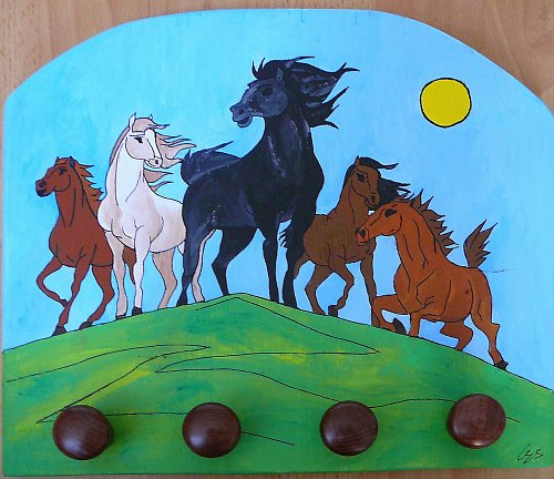 Věšák koně