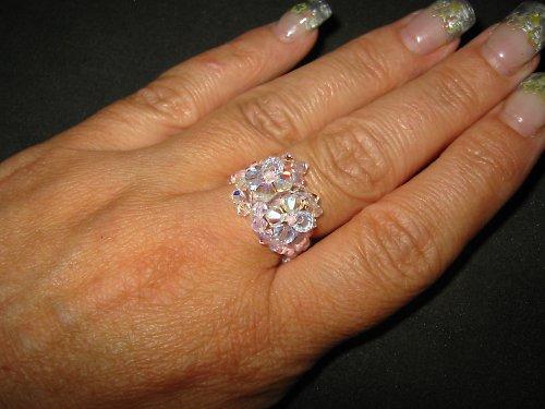 růžový prstýnek
