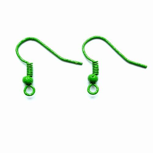 Afroháčky s kuličkou zelené