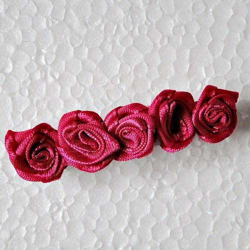 Spona -růžové růžičky
