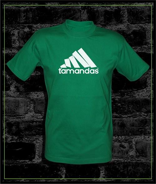 Pánské zelené tričko Ťamandas