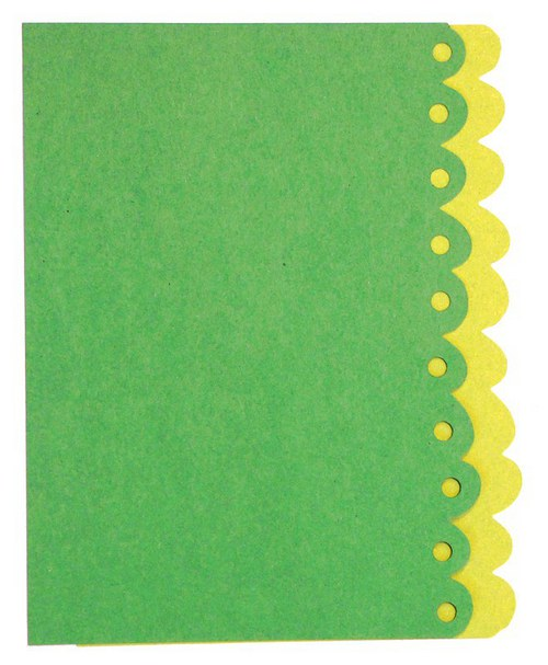 Stránky s bordurou 13 a 14 - barvy dle výběru
