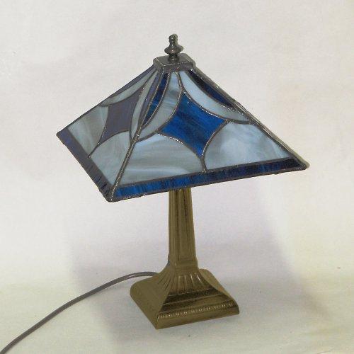 """Tiffany lampa \"""" Modrá v kouři\"""""""