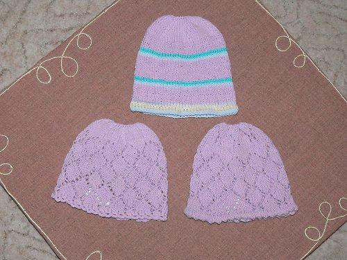 dětské jarní čapky