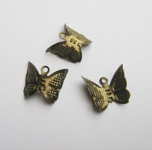 Motýlek cca10 x 10 mm - 10 ks