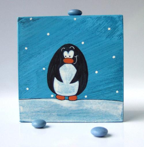 krabička - zmutovaný krteček za polárním kruhem