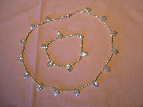Barborka - souprava náhrdelníku a náramku