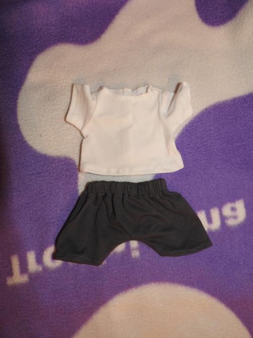 souprava na panenky 30-32cm krátká