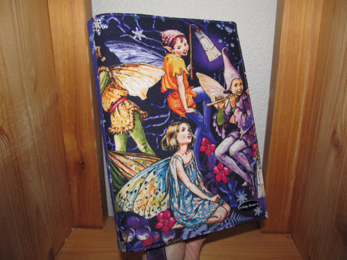 Rostoucí obal na knihu - Fairytopie