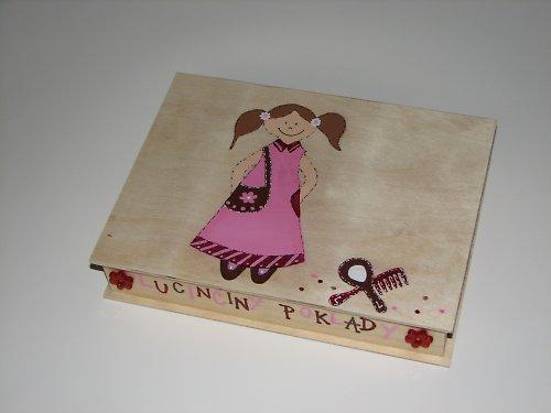 Krabička na poklady pro malé DÁMIČKY