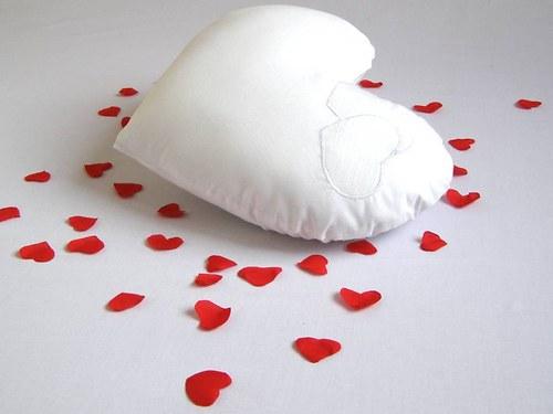 valentínska obliečka srdce midi