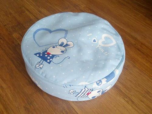Dětský sedáček pohankový - zamilovaná myška