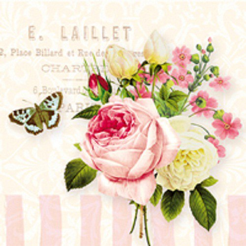 """ubrousek, motiv \""""Jardin Rose\"""""""