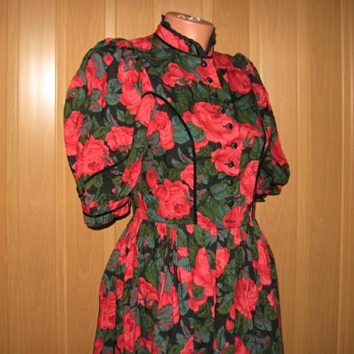 Šaty samá růžička