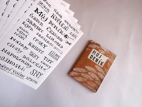 Samolepky do deníků
