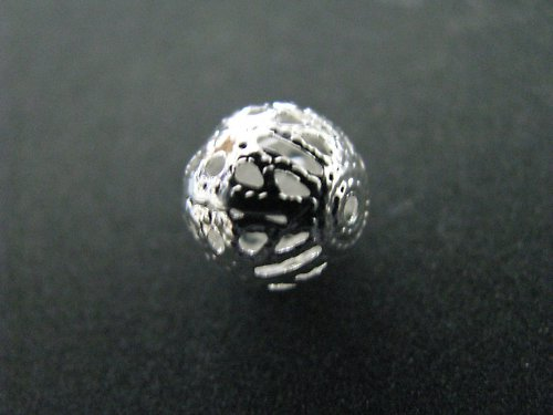 Korálek - ozdobná kulička - 10 mm - 10ks