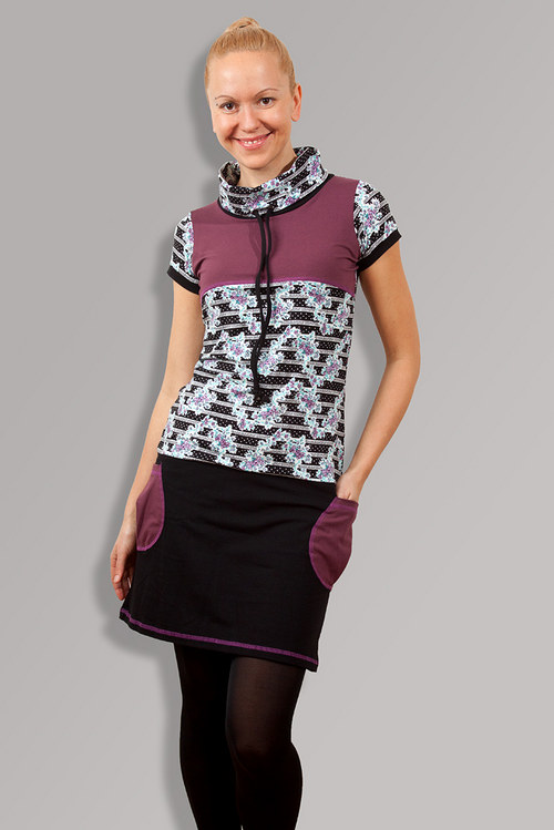 PETUNIA MIX DRESS