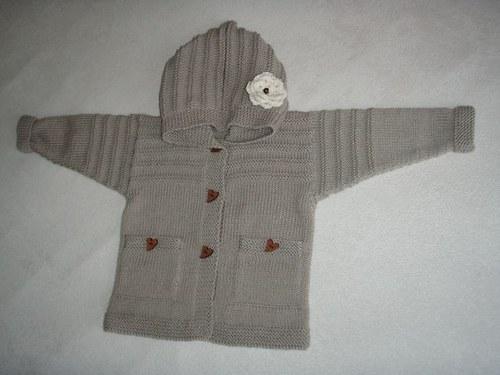 Merino svetřík pro holčičku, vel.: 80-86
