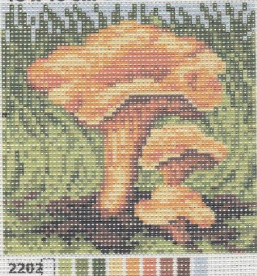 Předloha na vyšívání 15 x 15 cm