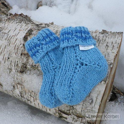 Ponožky pro miminko, akryl, velikost 9 cm