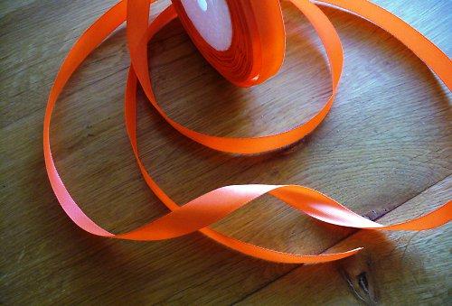 stuha oranž 14mm
