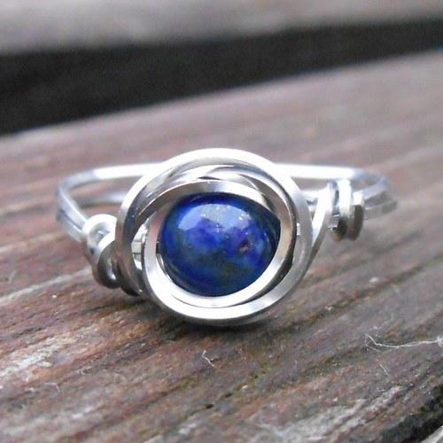 modrá planeta - prsten 2
