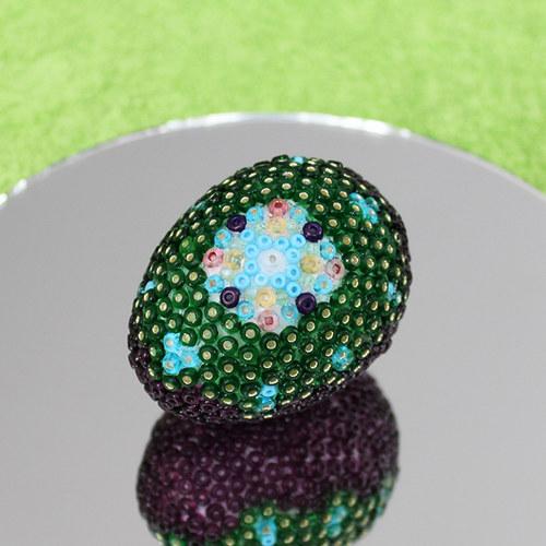 Velikonoční vajíčko od skleněného kohouta 10
